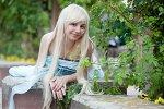 Cosplay-Cover: Alice (Hutmacherkleid)