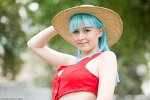 Cosplay-Cover: Bulma Briefs [Luffy Crossover]