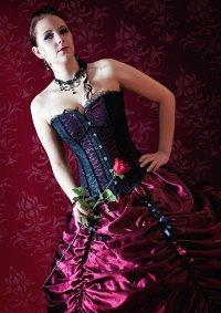 Cosplay-Cover: Vampir Lady Kaylachan in Red