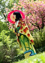 Cosplay-Cover: Nico Robin (Artbook Kimono)