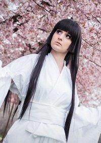 Cosplay-Cover: Enma Ai (weißer Kimono)