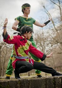 Cosplay-Cover: Ranma (Eislauf-Outfit)