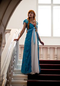 Cosplay-Cover: Giselle - curtain dress