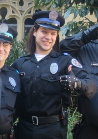 Cosplay-Cover: Zed (Police Academy)