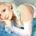 Cosplay: Elsa von Arendelle 【Snowdress- Ver.1】