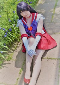 Cosplay-Cover: Sailor Mars (Rei Hino)