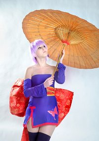 Cosplay-Cover: Ayane [C1 / Purple Butterfly Dress]