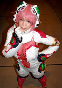 Cosplay-Cover: Akiha Shishidou (Mechsuit)