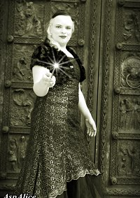 Cosplay-Cover: Narzissa Malfoy dress