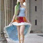Cosplay: Rainbow dash [Gala Dress]