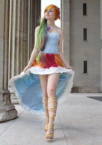 Cosplay-Cover: Rainbow dash [Gala Dress]
