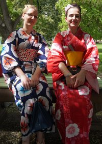 Cosplay-Cover: Morning Glory Yukata