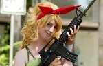 Cosplay-Cover: Lunch (blond)