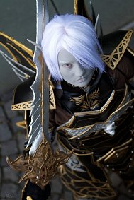 Cosplay-Cover: Carl (Dark Elf BladeDancer)