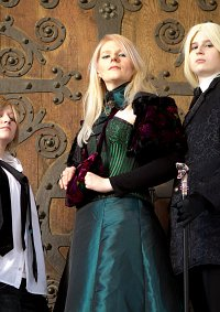 Cosplay-Cover: Narcissa Malfoy (und Familie)