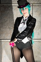 Cosplay-Cover: Miku Hatsune (Project Diva 2nd Magician)