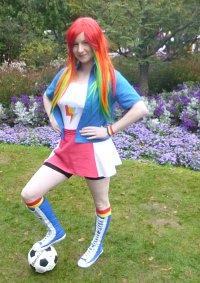 Cosplay-Cover: Rainbow Dash [Equestria Girls]