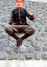 Cosplay-Cover: Aang (Buch 3 [Fire Nation])