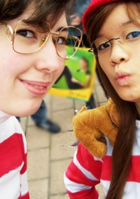 Cosplay-Cover: Wilma [Where's Wally?/Wo ist Walter?]