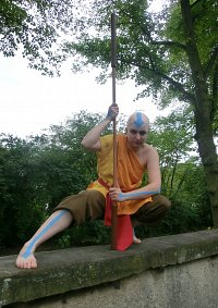 Cosplay-Cover: Aang (Buch 3)