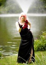 Cosplay-Cover: Haruno ◘ Sakura [Black Dress]