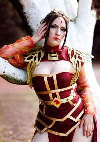 Cosplay-Cover: Azula [Art Nouveau Hannah Alexander Artwork]