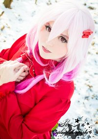 Cosplay-Cover: Inori Yuzuriha [Red Flower Dress]