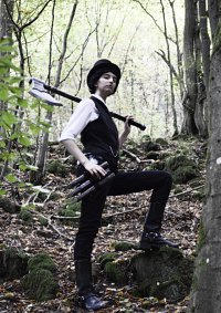 Cosplay-Cover: Abraham Lincoln Vampire Hunter (young)