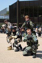 Cosplay-Cover: Chris Redfield - RE6 - BSAA SOU