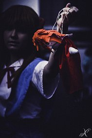Cosplay-Cover: Asuka Souryu Langley (school uniform)