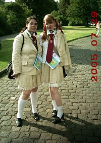 Cosplay-Cover: Random Battle Royale School Girl