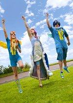 Cosplay-Cover: Rainbow Dash Grand Gala Version