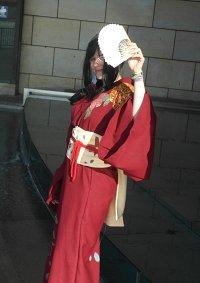Cosplay-Cover: Mio Akiyama im Kimono