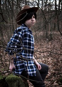 Cosplay-Cover: Carl Grimes