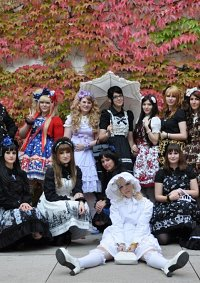 Cosplay-Cover: Lavender Gingham (Fashion Show Edition)