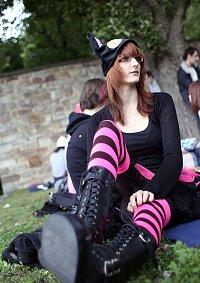 Cosplay-Cover: Pink/black Neko
