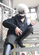 Cosplay-Cover: Kaneki Ken (white hair version)
