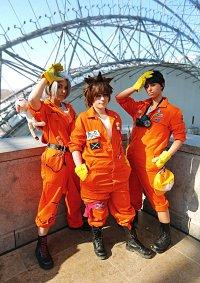 Cosplay-Cover: Sawada Tsunayoshi [Orange Jumpsuit]