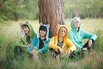 Cosplay-Cover: Yuuri Katsuki ~ Blue Kitty Ranger