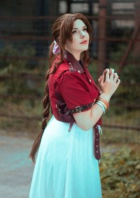 Cosplay-Cover: Aerith Gainsborough [FFVII Remake]