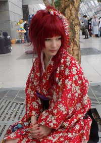 Cosplay-Cover: Erza in Furisode