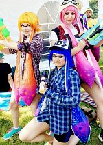 Cosplay-Cover: Blue Inkling (Splatoon)