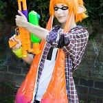 Cosplay: Orange Inkling (Splatoon)