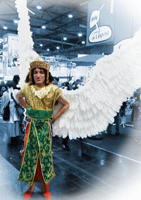 Cosplay-Cover: Paradiesvogel