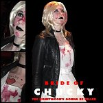 Cosplay-Cover: Tiffany (Bride of Chucky)