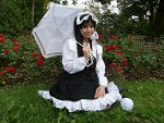 Cosplay-Cover: Old School Gothic Lolita