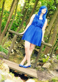 Cosplay-Cover: Blau (Farbe)