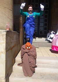 Cosplay-Cover: Luigi [Super Mario Bros.]