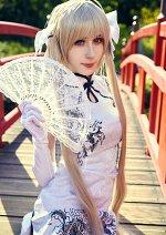 Cosplay-Cover: Sora Kasugano - China dress