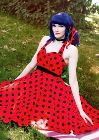 Cosplay-Cover: Marinette Dupain-Cheng -Rockabilly Ladybug-